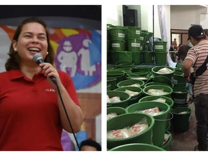 Sara Duterte gives gift packs and cash bonus to traffic enforcers, street sweepers in Davao
