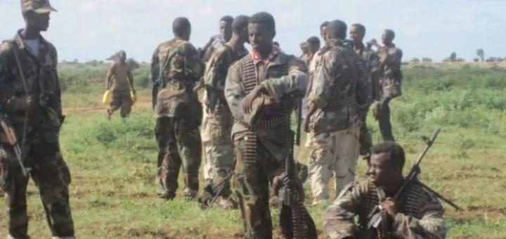 Somali military engage al-Shabaab fighters near Kenya border