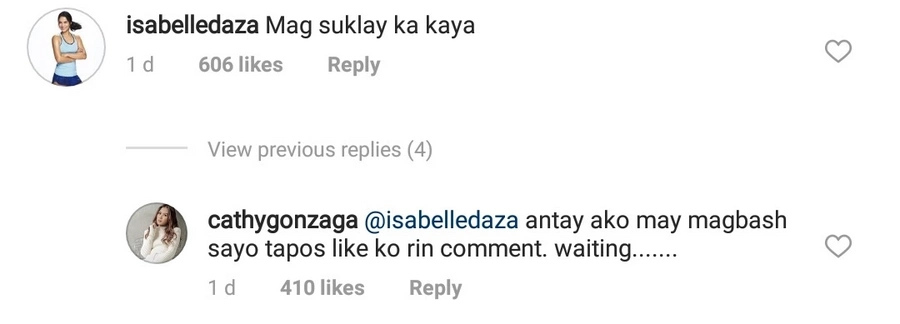 Isabelle Daza's comment on Alex Gonzaga's hair in photo goes viral