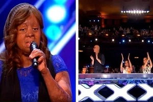 This woman survived a plane crash that killed 107 people. Now, she amazes a talent show's judges & viewers with her awesome singing voice!