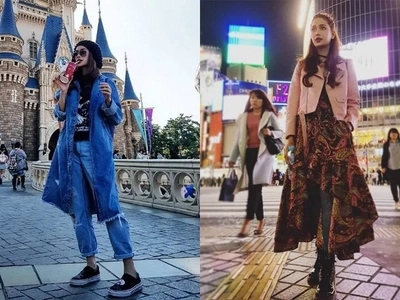 Pak na pak ang mga suot! Arci Muñoz enjoys Japan with her rocking outfits