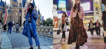 Pak na pak ang mga suot! Arci Muñoz enjoys Japan with her rocking outfits