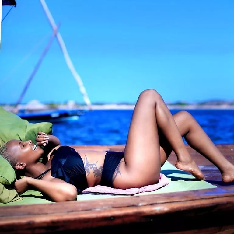 Fashion blogger Joy Kendi leaves tongues wagging with scintillating bikini photos