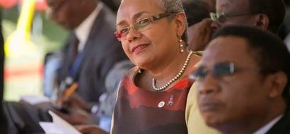 PHOTOS: First Lady Margaret Kenyatta Wears Cultural Garb In Nyandarua