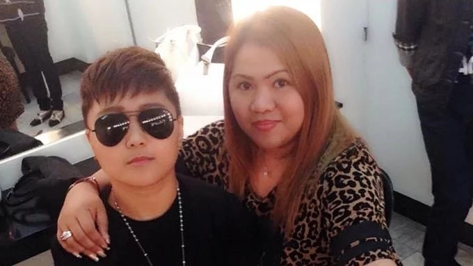 Raquel Pempengco greets son Carl, emphasizes he's the only male Pempengco