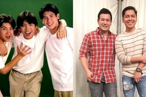 Nostalgia alert! JCS members John Prats and Carlo Aquino reunite for a photo op