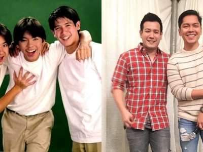 Nostalgia alert! JCS members John Prats and Carlo Aquino reunite for a photo op