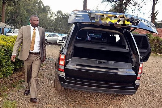 Eugene Wamalwa'S Range Rover imported as a lorry
