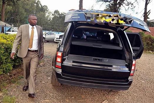 Eugene Wamalwa'S Range Rover imported as a lorry