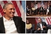 Obama returns to remind us why we LOVE him and how different he is from Donald Trump (photos, video)