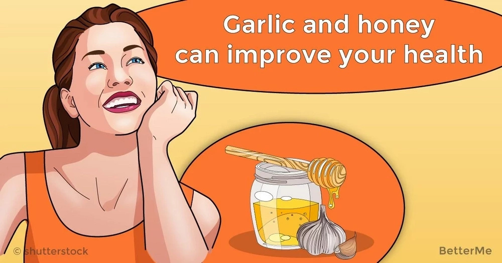 Garlic and honey can improve your health