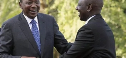 7 photos that generously bring out the chemistry between Uhuru and Ruto