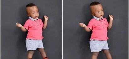 Here is why this little CUTE baby is winning hearts online