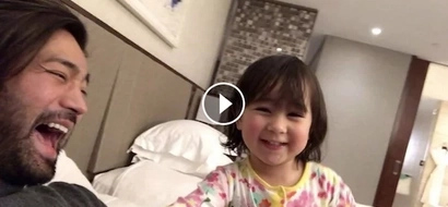 This video proves that Scarlet Snow Belo is the cutest and smartest kid!