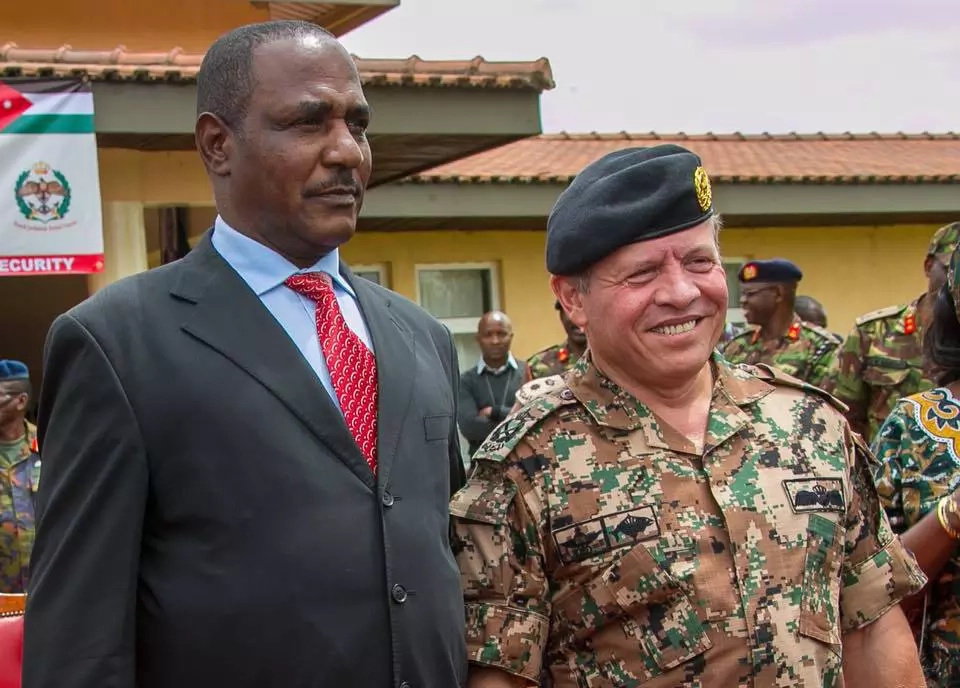 King Abdullah II runs into old Kenyan friend in Nairobi