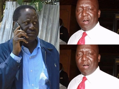 Raila Odinga's cousin BADLY beaten in ODM primaries
