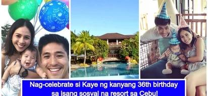 Family goals! Kaye Abad enjoys 36th birthday celebration with Paul Jake Castillo and Baby Joaquin in Cebu
