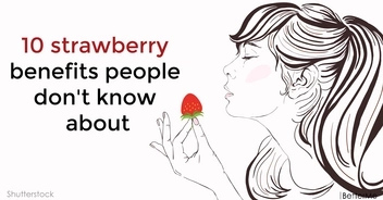 10 strawberry benefits people don't know about