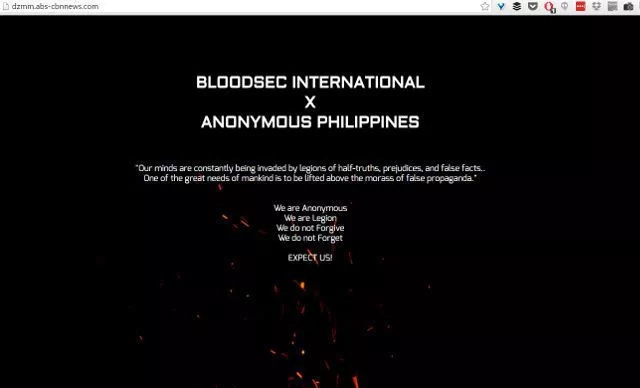 DZMM website hacked, possible data leak