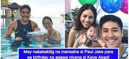 Ang sweet talaga! Kaye Abad receives heartwarming birthday message from Paul Jake Castillo