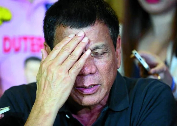 Duterte slams CHR resolution about rape joke
