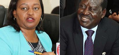 'Leave Waiguru, Talk Of Your Kazi Kwa Vijana', Raila Told Off