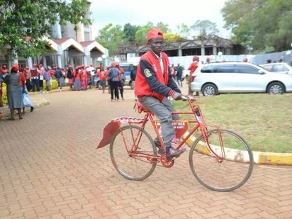 MCA finally ditches bicycle and buys spanking new car