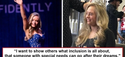 Bakal ang puso niya! Woman with Down Syndrome slams naysayers who say she can't by joining Miss USA pageant and by winning two awards
