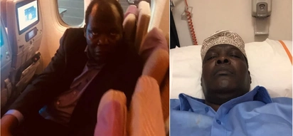 Images of Miguna in Dubai without his signature cap after second deportation