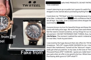 Naloko na! This netizen got duped into buying a counterfeit watch at this online merchant and this is his story