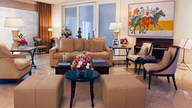 Sharon Cuneta's elegant family home