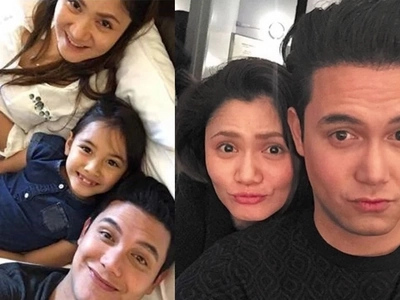 """Paolo Ballesteros' ex-girlfriend sweetly calls the actor her """"best friend"""" and the """"best daddy"""""""