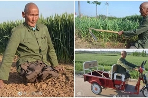 Inspiring! Read how disabled man, 60, has supported his family for over 40 YEARS (photos)