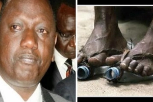 4 unforgivable photos of DP Ruto wearing shoes without socks in public