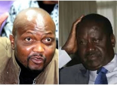 Raila either headed to exile as a fugitive or the ICC - Moses Kuria