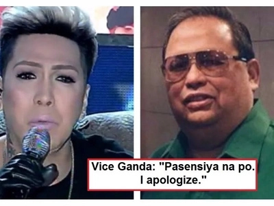Vice Ganda finally apologized on live TV to Tony Calvento for making a joke about him. Tony accepted the comedian's apology!