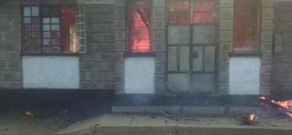 ODM offices in Kajiado on fire