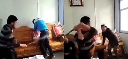 Fed Up Asian Teacher Beating Punk Student With A Stick Is Porn For Teachers