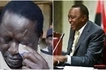 8 emotional photos of Raila struggling to wipe tears from his left eye and the story behind it