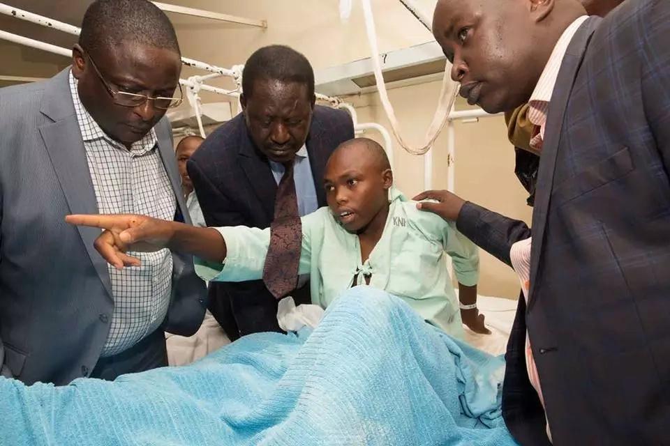 Raila atoa maoni yake ya kusikitisha kuhuisu kaunti ambayo wanasiasa wameonywa kwa ajili ya ukosefu wa usalama