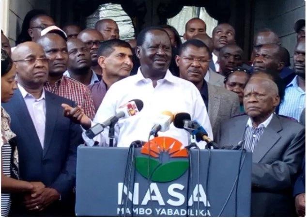 I was detained by police at Jimmy Wanjigi's home - Raila Odinga