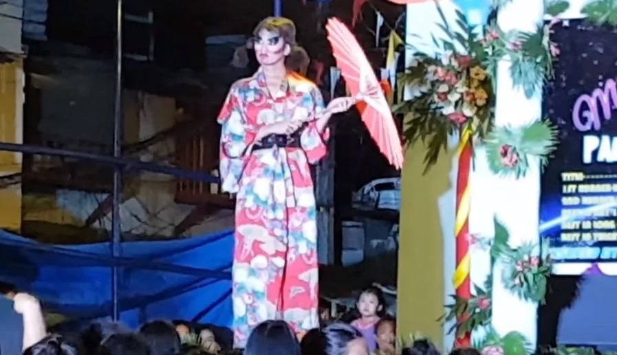 Hilarious Miss Gay Pangkalawakan contestant entertained crowd with epic performance
