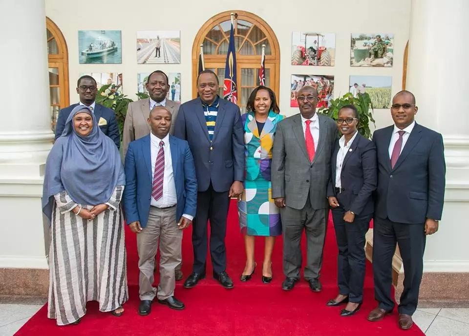Kalonzo Musyoka's son among EALA MPs who visited Uhuru in State House