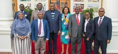 Mwana wa Kalonzo na wenzake wamtembelea Uhuru Ikuluni