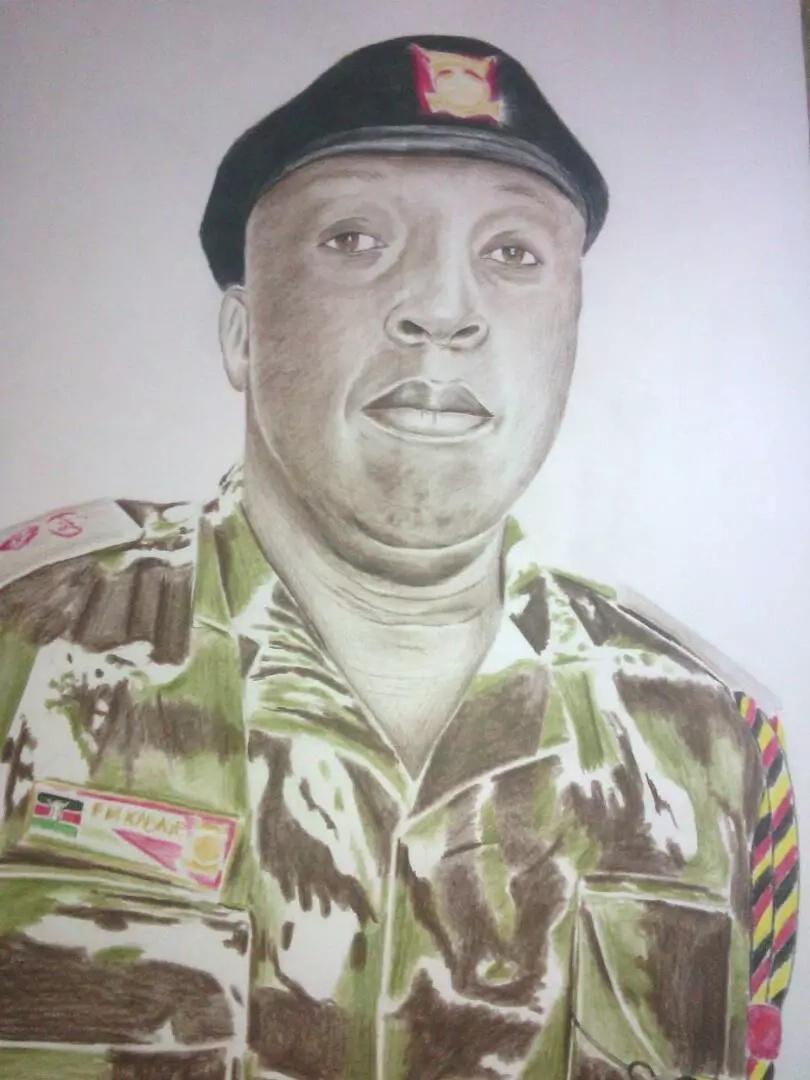 Huyu ndiye afisa wa polisi anayewafurahisha Wakenya kutokana na michoro yake
