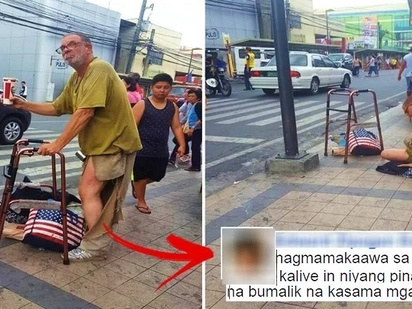 This American man got stranded in Cavite & is now singing on the street & begging for money! His heartbreaking story will make you cry!