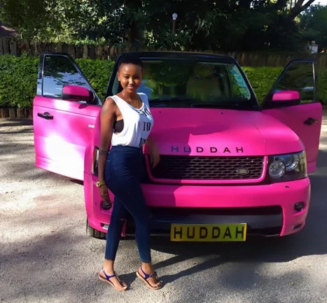 Kenyan socialite Huddah Monroe gets a condom deal (video)