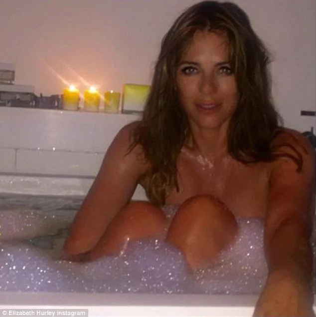 It's Unbelievable This Saucy Model In Bathroom Is 51 Years Old (Photos)
