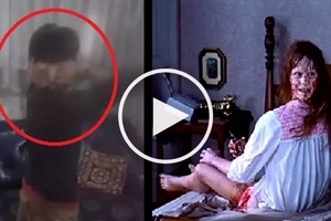 Nakakatakot na bata! Freaky Asian kid scares adults by performing 'The Exorcist' head spin