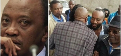These photos of NASA leaders comforting Moses Kuria will make supporters look silly